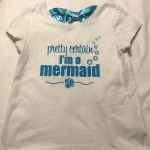 Girls Disney Little Mermaid shirt